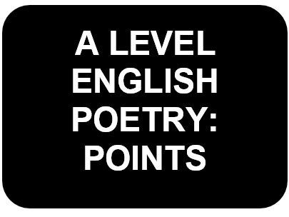 A Level English Crime Poetry Cluster Detailed Analysis paragraphs