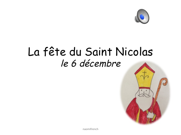 Fun French Christmas Saint Nicolas Pupil Review Sheet