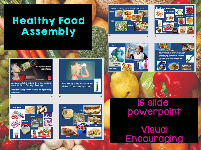 Healthy Eating Assembly - KS1 / KS2