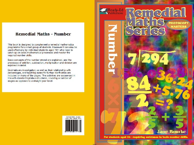 Remedial Maths Series: Number (Students At Risk in Mathematics)