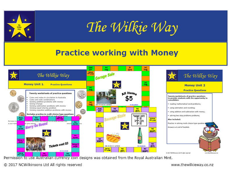 Working with money practice
