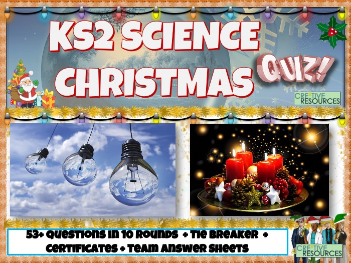 Science KS2 Christmas Quiz 2020