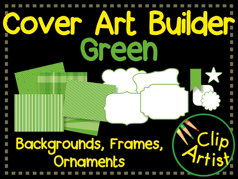 Cover Builder for Authors and Presentations - Green