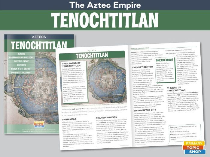 Aztecs - Techochtitlan