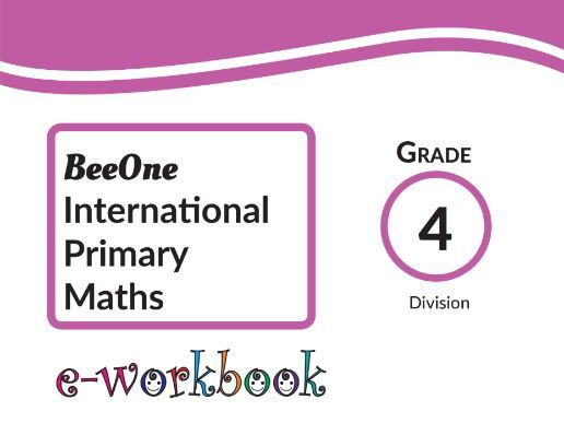 Grade 4 Division, 48 worksheets from BeeOne Books