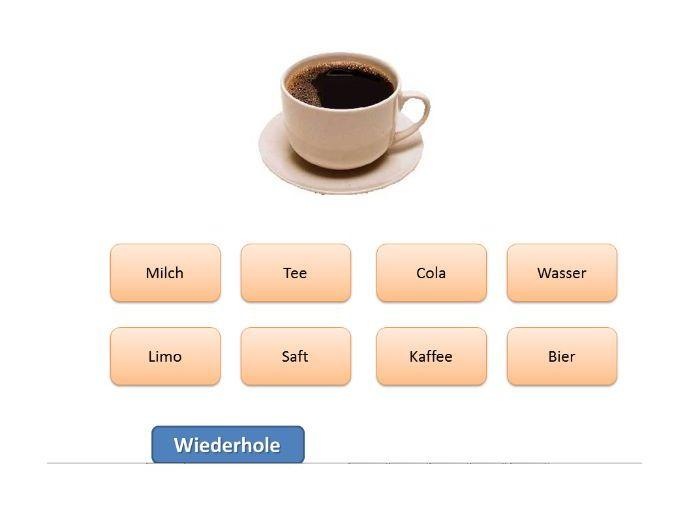 Getränke Quiz (German) - Drinks Quiz