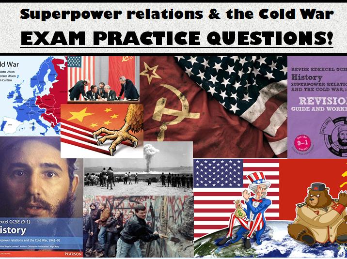 GCSE History - Exam practice questions - Cold War