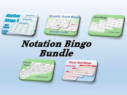 Notation Bingo Bundle
