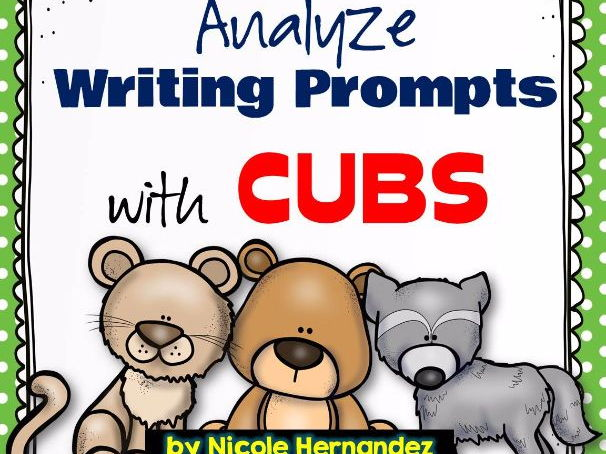 Analyse Writing Prompts with CUBS