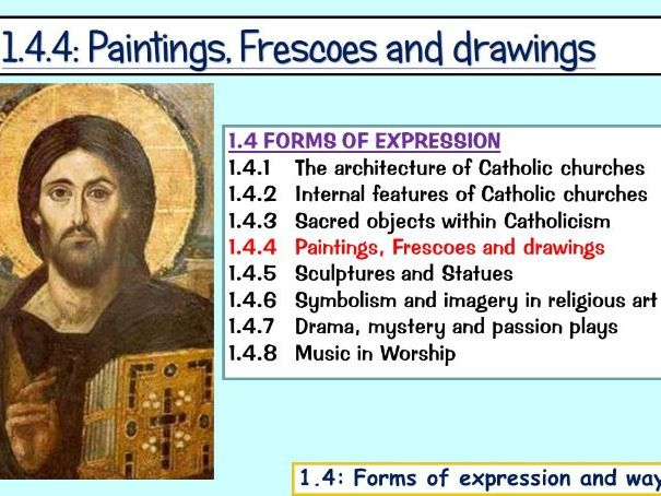 1.4.4: Paintings, Frescoes and drawings (Edexcel)
