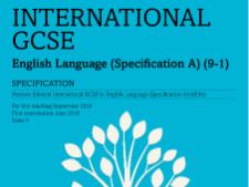 Edexcel iGCSE English Language A Paper 1 Revision Grids