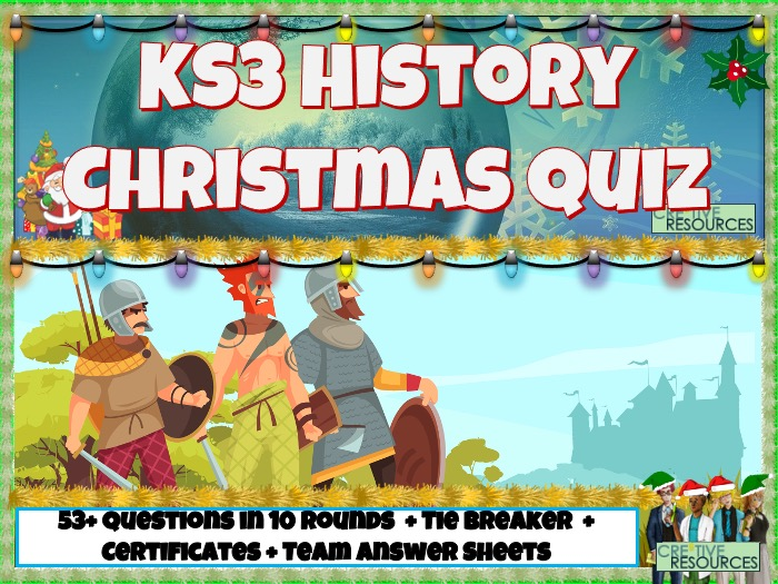 KS3 History Christmas Quiz 2020