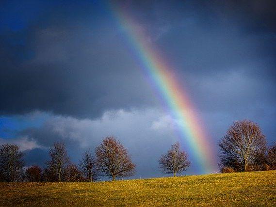 Poem - Rainbow Glow (by author, published)