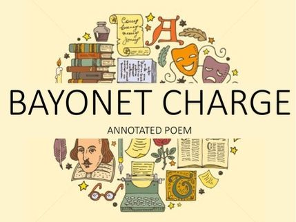 Bayonet Charge Annotated Poem - GCSE Power and Conflict