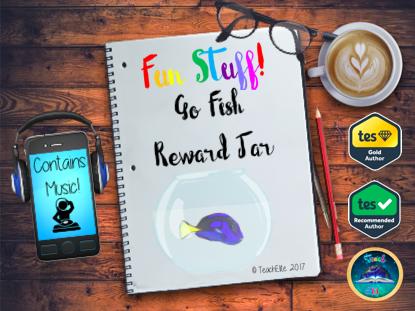 Go Fish Reward Jar