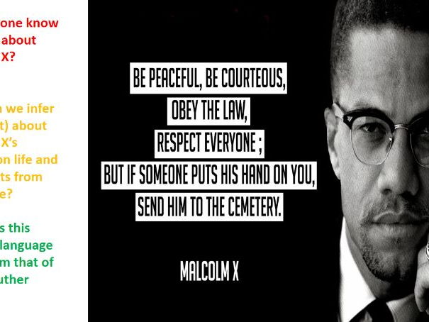 Malcolm X - A Wolf in Sheep's Clothing?