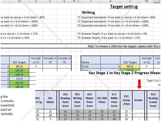 KS1 to KS2 Progress measure and target setting (2018 version)
