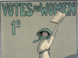 How did woman campaign for the right to vote? Lesson