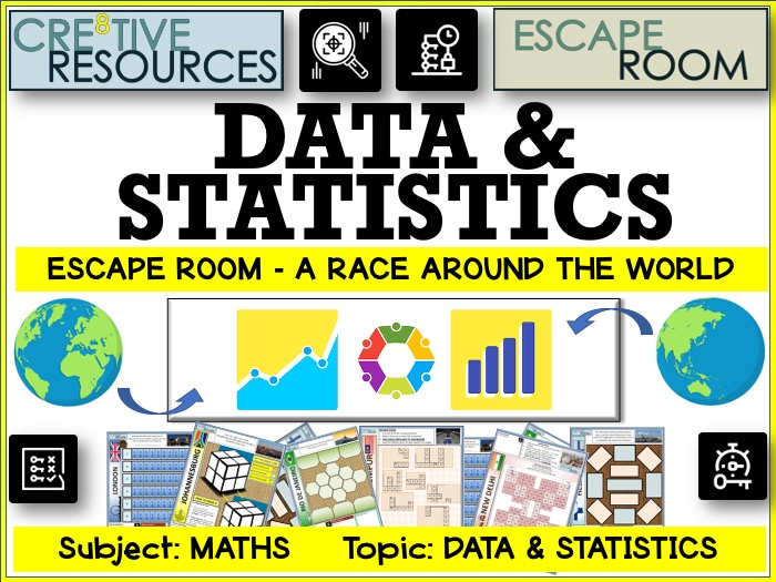 Statistics Maths Escape Room