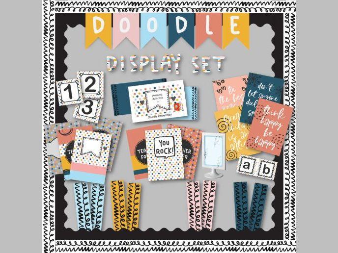 Doodle Display Set- massive bundle!