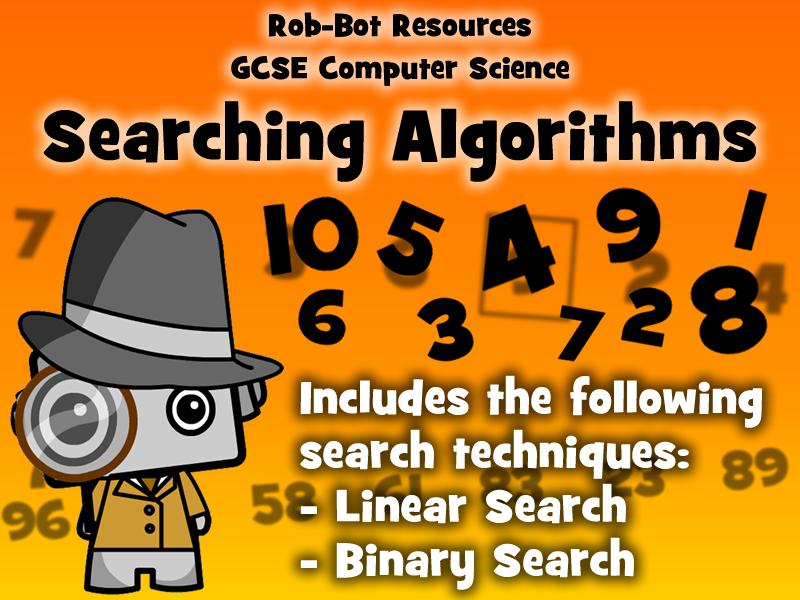 GCSE 9-1 Computer Science: Searching Algorithms