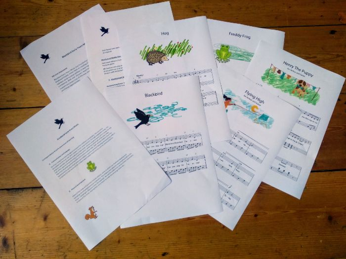Music Resource Pack 1, Ages 3-7