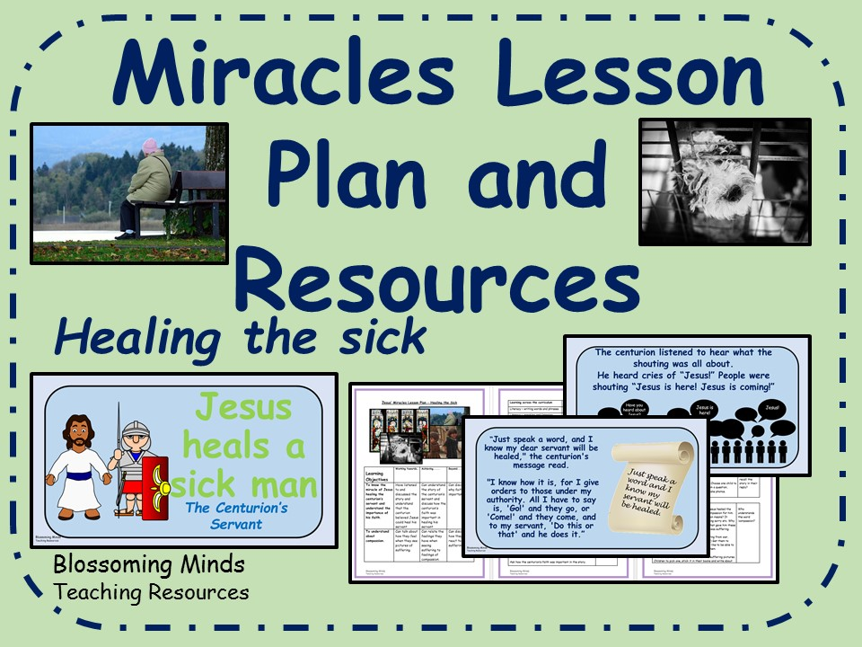 Jesus' Miracles - KS2 RE plan and resources - Jesus heals the sick