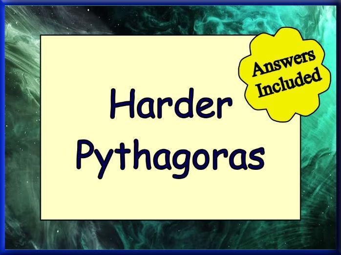 Pythagoras Theorem For GCSE