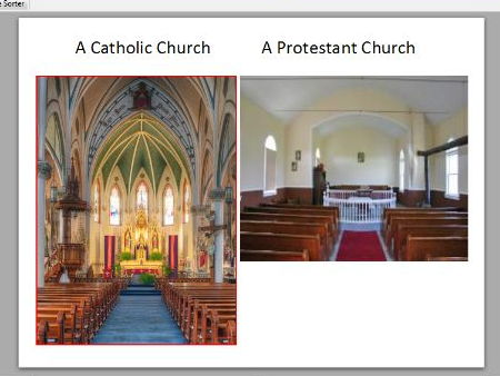 The Reformation (powerpoint and worksheet)