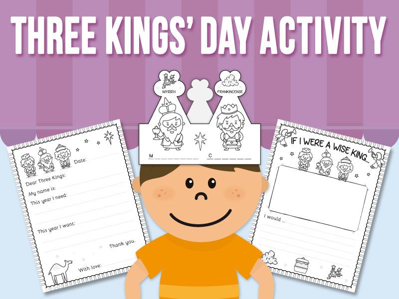 Three King' Day Activity