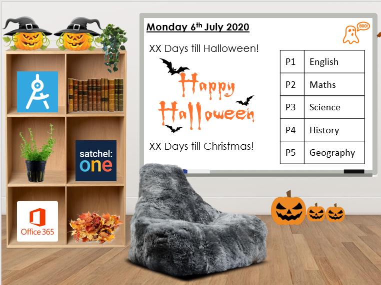Halloween Bitmoji Classroom