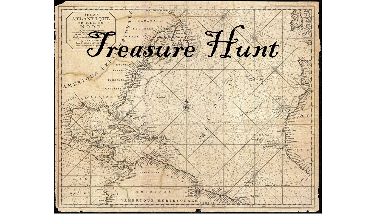 Pirate Treasure Hunt- Mixed linear equations