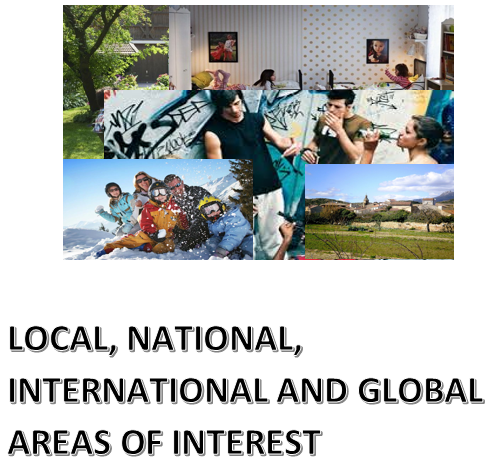 Theme two - Local, regional and global areas of interest (Local area, holidays, social issues, Photo cards, Role Plays)
