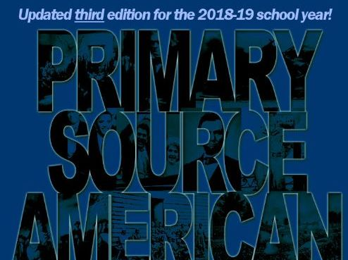 Primary Source American History - 2018-19 edition