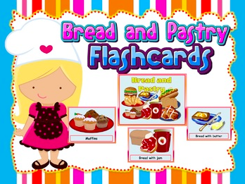 Bread and Pastry Flashcards (Role-play)