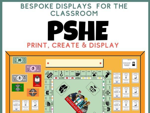 PSHE Display Revision Wall