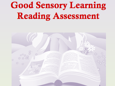 Reading Assessment for Orton Gillingham and Phonics Based Programs