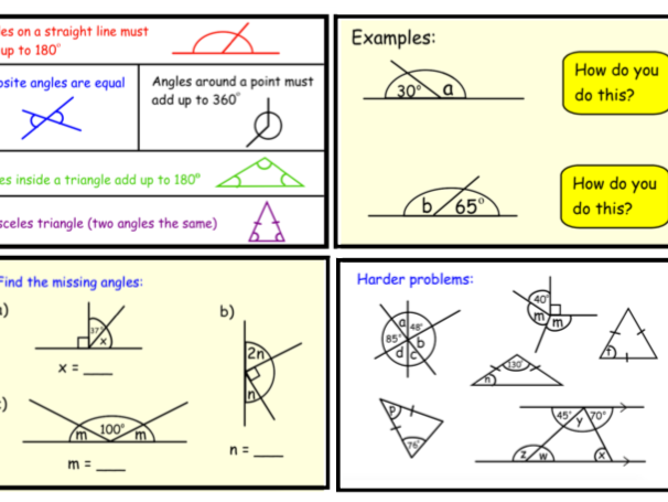 Angle Rules (pptx)