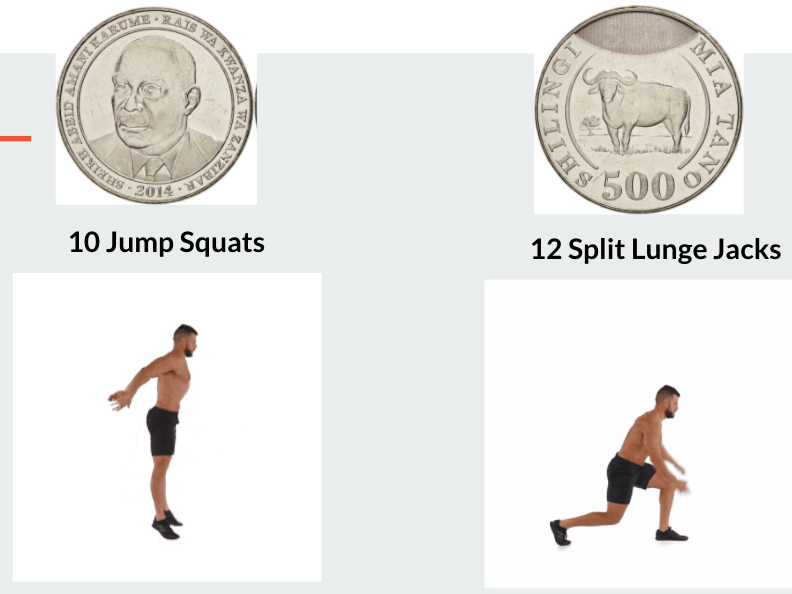Heads or Tails Fitness PE Distance Learning Resource