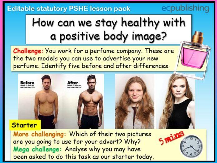 Body Image PSHE RSE