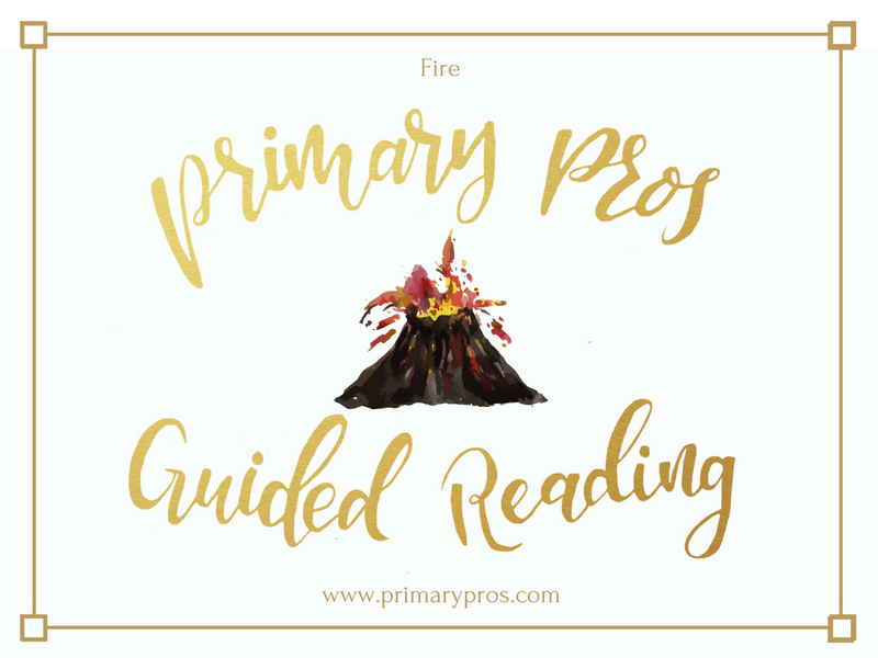 Year 3 & 4 Guided Reading Text - Fire