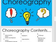 KS3 & KS4 Dance Dictionary