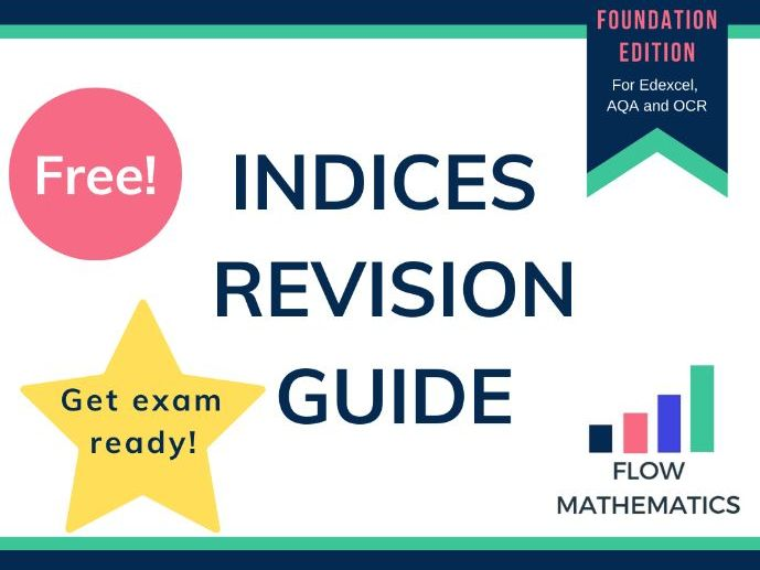 Indices revision guide: Foundation paper