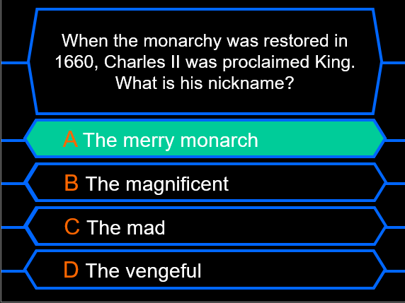 British History Millionaire Quiz Bundle