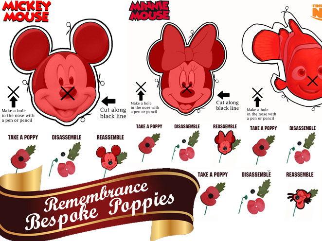 Remembrance Bespoke poppy making activity