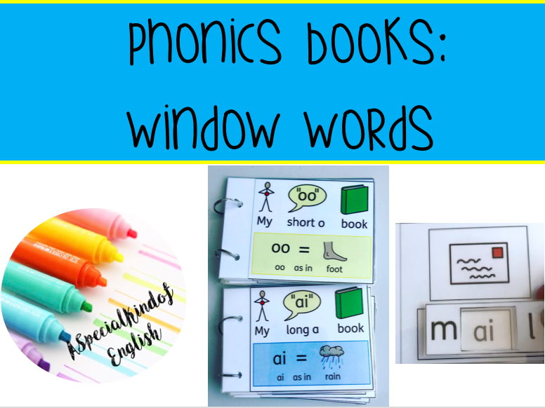 Phonics: Window Words - vowel digraphs