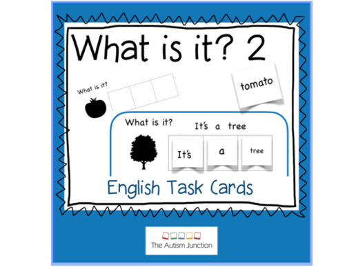 What is it? English Task Cards 2