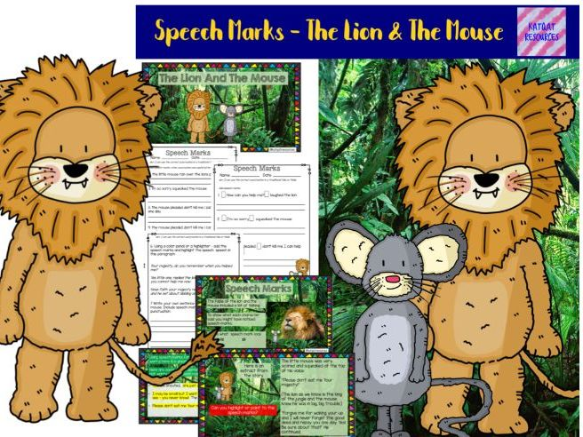 How to teach Speech marks Year 1 / Year 2