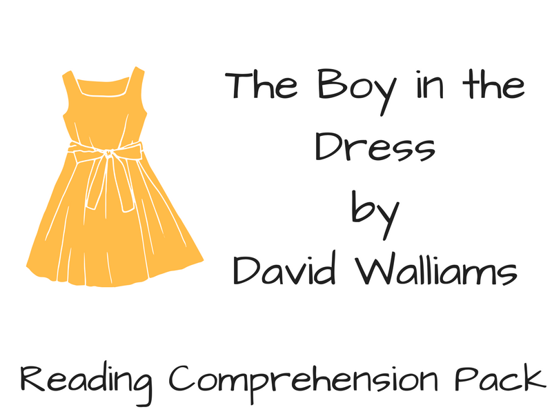 The Boy in the Dress - Reading Comprehension