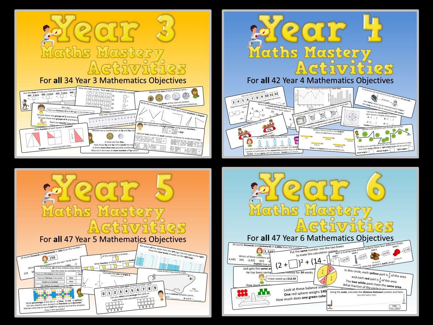 KS2 Maths Mastery Pack